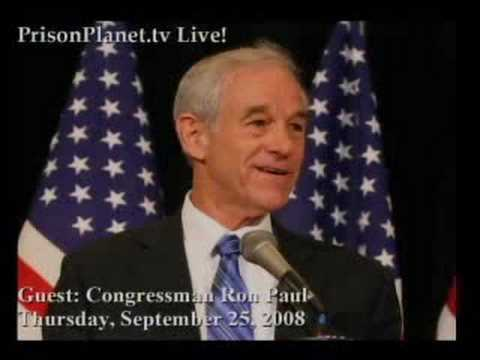 Download Ron Paul on Alex Jones Tv 9-25-08