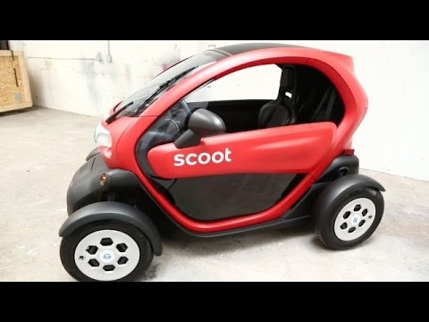 Scoot s First Four Wheel Vehicle