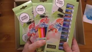 Review - Watercolour Studio Kit By Home Hobby