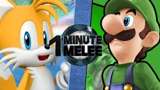 One Minute Melee S5 EP3 - Luigi vs Tails (Nintendo vs Sega)