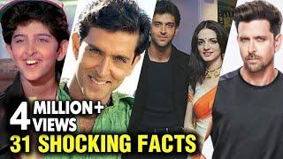 Hrithik Roshan Shocking UNKNOWN Facts | Marriage To Divorce | Happy Birthday Hrithik Roshan