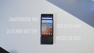 نظرة على بلاك بيري الجديد المواصفات والمزايا BlackBerry Priv