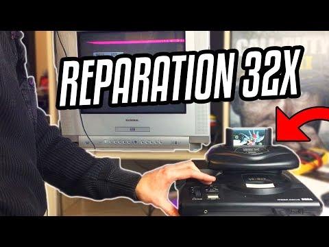 SEGA MEGADRIVE 32X QUI NE FONCTIONNE PAS VIDEO REPARATION