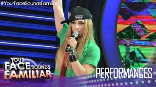"Your Face Sounds Familiar: Kean Cipriano as Avril Lavigne - ""Sk8ter Boi"""
