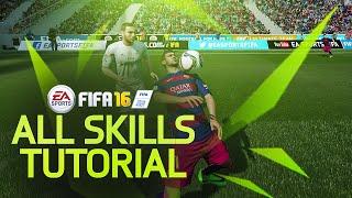 FIFA 16 ALL SKILLS TUTORIAL + Secret Skill Moves & New Skills / XBOX & Playstation