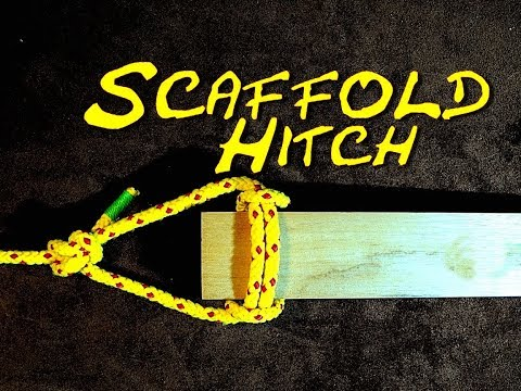 Xxx Mp4 Scaffold Hitch How To Tie The Scaffold Hitch How To Suspend A Plank With Rope 3gp Sex