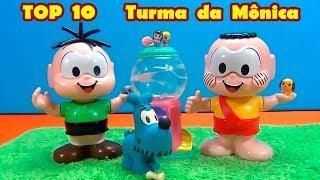 TOP 10 TURMA DA MÔNICA Brinquedos e Novelinhas - Os melhores  #TurmadaMônica