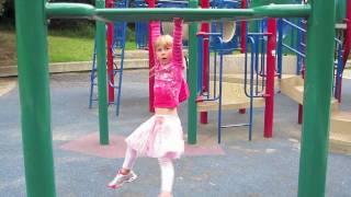 Micaela Monkey Bars (Age 5)