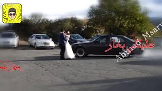 شوفو كيف فاجئها بيوم زفافهم 😍💘  2017