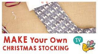 Make your own Christmas Stocking!