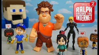 Wreck it Ralph 2 - Ralph Breaks the Internet Movie Action Figures Unboxing