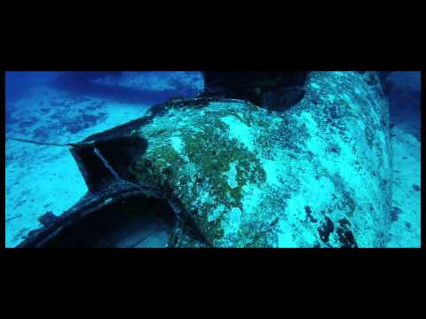 Wreck of Catalina ex WW II  Biak, West Papua, Indonesia.