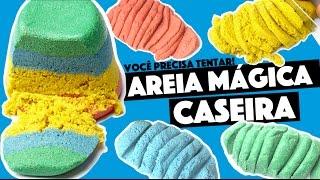 A SENSAÇÃO DO MOMENTO DI GRÁTIS! AREIA MÁGICA (KINECT SAND) | KIM ROSACUCA