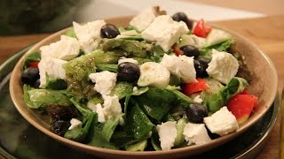 Greek Salad | Cooksmart | New Season | Sanjeev Kapoor Khazana