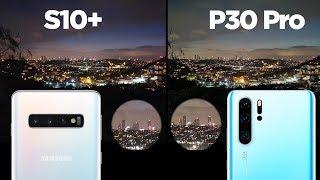 Samsung Galaxy S10+ vs Huawei P30 Pro kamera karşılaştırması