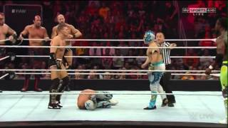 The Lucha Dragons and The New Day vs Thsen Kidd and Cesaro and the Ascension