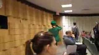 Patrick as a Leprechaun