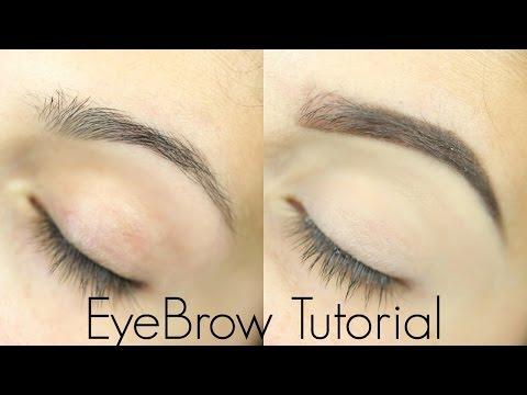 Eyebrow Tutorial for Beginners
