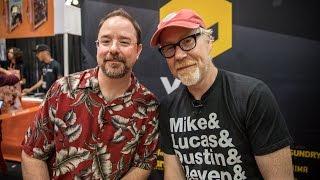 Adam Savage and John Scalzi Chat Sci-Fi!