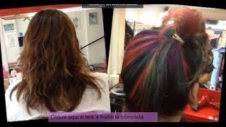 Transformação: As mechas coloridas que estão fazendo a cabeça das famosas