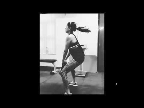 samntha workouts very hard