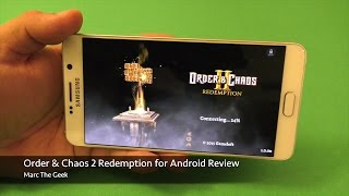 Order & Chaos 2: Redemption for Android Gameplay Review