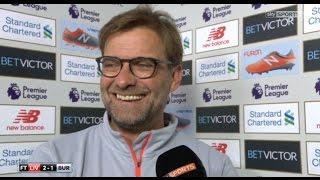 Jurgen Klopp - Post Match Interview