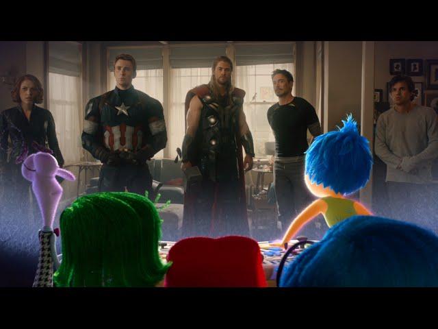 Inside Out: La reazione emotiva al trailer di Avengers: Age of Ultron