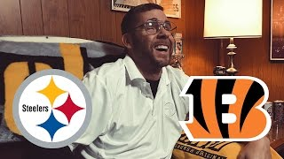 Dad Reacts to Steelers vs Bengals (Week 15)