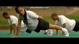 Drumline 'girl' pushups