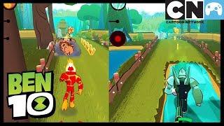 Ben 10 Po Polsku | Ben 10 Up to speed app — prezentacja rozgrywki | Cartoon Network