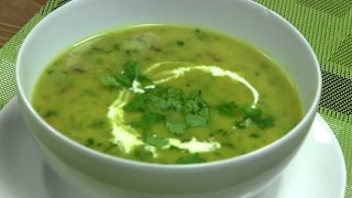 How to make a quick mushroom soup طرز تهیه سوپ قارچ سریع و خوشمزه