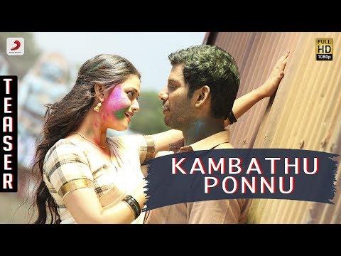 Xxx Mp4 Kambathu Ponnu Song Teaser Vishal Yuvanshankar Raja N Lingusamy 3gp Sex