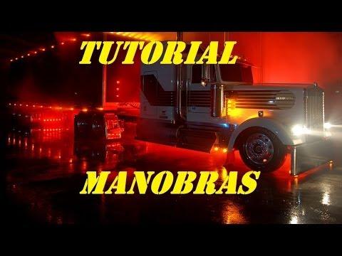 MANOBRAR UMA CARRETA tutorial manobras BRA