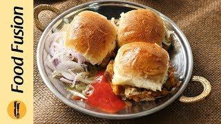 Street Style Mini Bun Kabab Recipe By Food Fusion