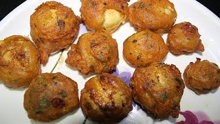 How To Make Garlic Mashroom Pakora-Recipe In Hindi By Dolly Kitchen