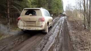 Toyota Land Cruiser 200 Hard Off-road