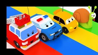 Vroum Vroum Touni - Petit escargot avec les voitures et les camions - Titounis