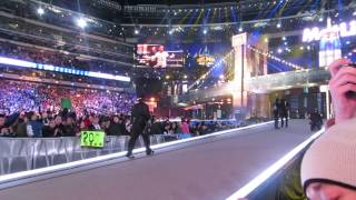 WWE WrestleMania 29 - CM Punk and The Undertaker ENTRANCE!