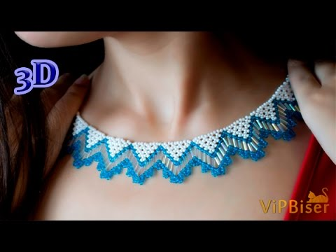 Xxx Mp4 Beaded Necklace With Seed Bugle Beads 3D Beading Tutorial 3gp Sex