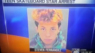 Steven Fernandez arrested (skater)