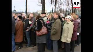 Body of Patriarch Alexy II lies in state, preps for funeral