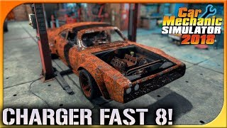 TORETTO´S CHARGER FAST AND FURIOUS 8 | CAR MECHANIC 2018 | DEWRON