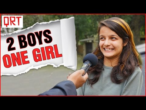 Delhi Girls on Love Triangle | Relationship Advice by Indian Girls | Quick Reaction Team