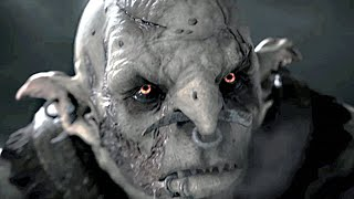 Middle Earth Shadow of Mordor All Cutscenes The Movie