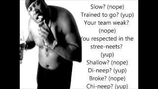E-40 - Choices (YUP) Lyrics on Screen (Explicit) FULL