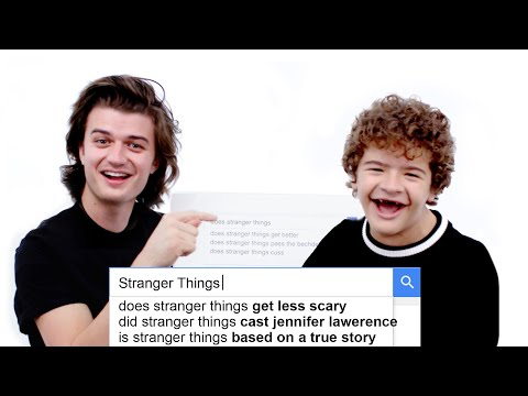 Xxx Mp4 Stranger Things Cast Answer The Web39s Most Searched Questions WIRED 3gp Sex