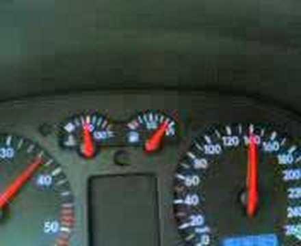 VW Bora 1 9 TDI 115HP chipped 156HP less than 8 sec to 100 km h