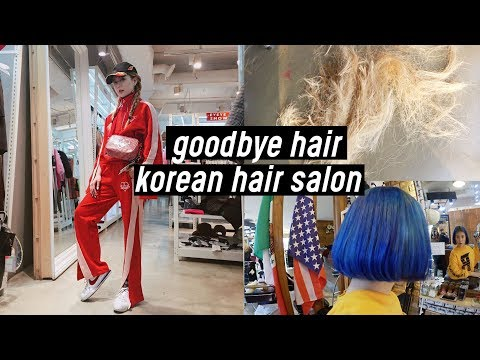Xxx Mp4 Cutting My Long Hair Dying Back To Jet Blue For Seoul Fashion Week 2018 DTV 91 3gp Sex