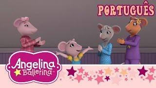 Angelina Ballerina Brasil - O passo de Polly